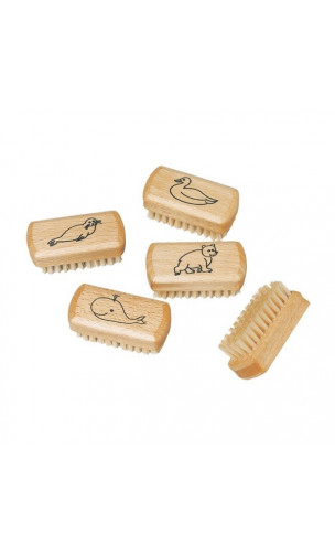 Brosse à ongles pour enfants en bois de hêtre - Redecker