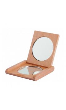 Espejo de bolsillo plegable de madera - Redecker