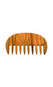 Peigne pour cheveux bouclés en bois d'olivier - Redecker