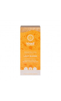 Tinte vegetal bio - rubio claro- 100 vegetal - Khadi - 100 gr.