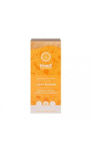 Tinte vegetal bio - rubio claro- 100% vegetal - Khadi - 100 gr.