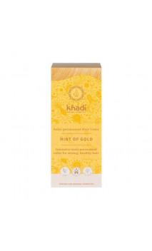 Tinte vegetal bio - rubio dorado - 100 vegetal - Khadi - 100 gr.