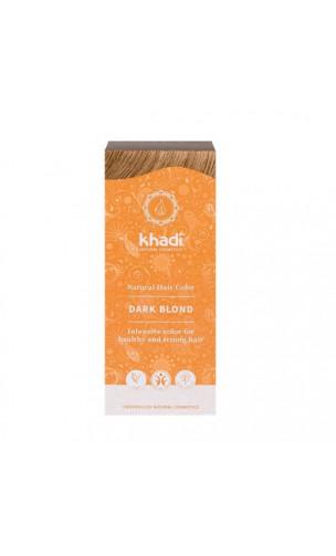 Coloration végétale bio - Blond foncé Cendre - 100 végétale - Khadi - 100 gr.