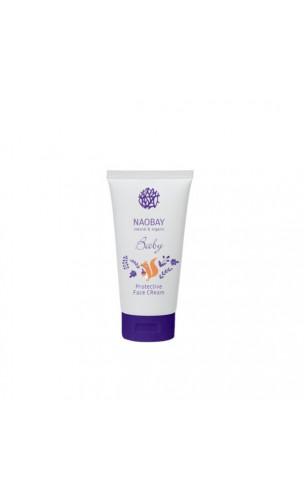 Crème visage protectrice naturelle pour bébé - NAOBAY - 50 ml.