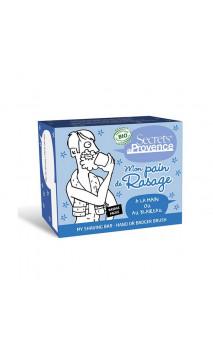 Savon pain de rasage homme bio - Secrets de Provence - 90 g.