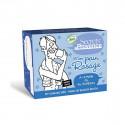 Jabón de pastilla para afeitar bio - Secrets de Provence - 90 g.
