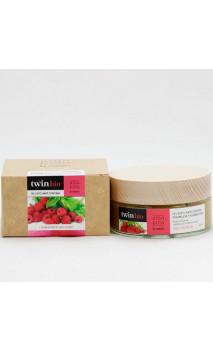 Gel Exfoliante corporal ecológico - Frambuesa & Hierbabuena - Amapola Biocosmetics - 200 ml.