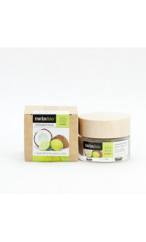 Exfoliante facial ecológico - Coco & Lima - Piel grasa/mixta - Amapola Biocosmetics - 30 ml.