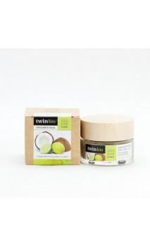 Gommage visage bio - Coco & Citron vert - Peau grasse/mixte - Amapola Biocosmetics - 30 ml.