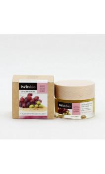 Gommage visage BIO - Raisin & Olive - Peau sèche/sensible - Amapola Biocosmetics - 30 ml.