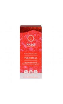 Henna bio - Rojo - 100 natural - Khadi - 100 gr.