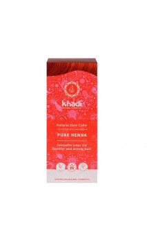 Henné bio - Rouge - 100 naturel - Khadi - 100 gr.
