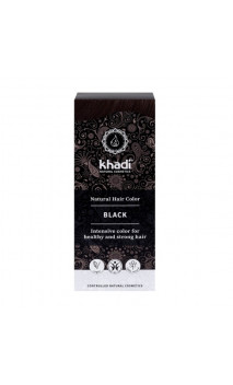 Coloration végétale bio - Noir - 100 végétal - Khadi - 100 gr.