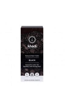 Tinte vegetal bio - negro - 100 vegetal - Khadi - 100 gr.