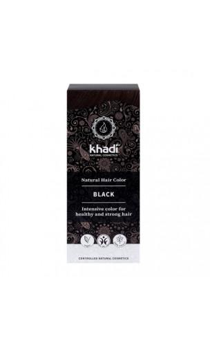 Tinte vegetal bio - negro - 100% vegetal - Khadi - 100 gr.