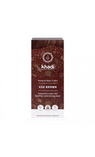 Tinte vegetal bio - castaño ceniza - 100 vegetal - Khadi - 100 gr.