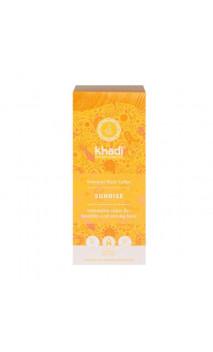 Coloration végétale bio - Sunrise-Miel - 100 végétale - Khadi - 100 gr.