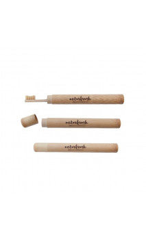 Tube de protection en bambou Biodégradable - Pour voyage - Naturbrush