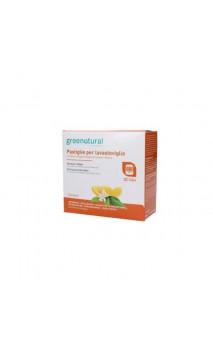 Pastillas para lavavajillas ecológicas Naranja & Limón - FAMILY - Greenatural - 50 ud.