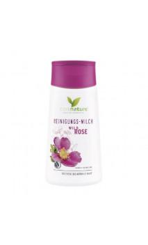 Lait nettoyant bio Rose Sauvage - Cosnature - 150 ml.