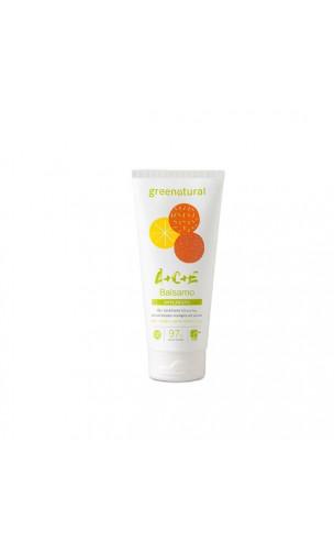 Baume après-shampooing bio Anti-frisottis - Multivitaminé ACE - Greenatural - 200 ml.