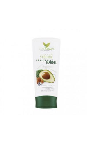 Après-shampooing bio Réparateur - Amandes & Avocat - Cosnature - 200 ml.