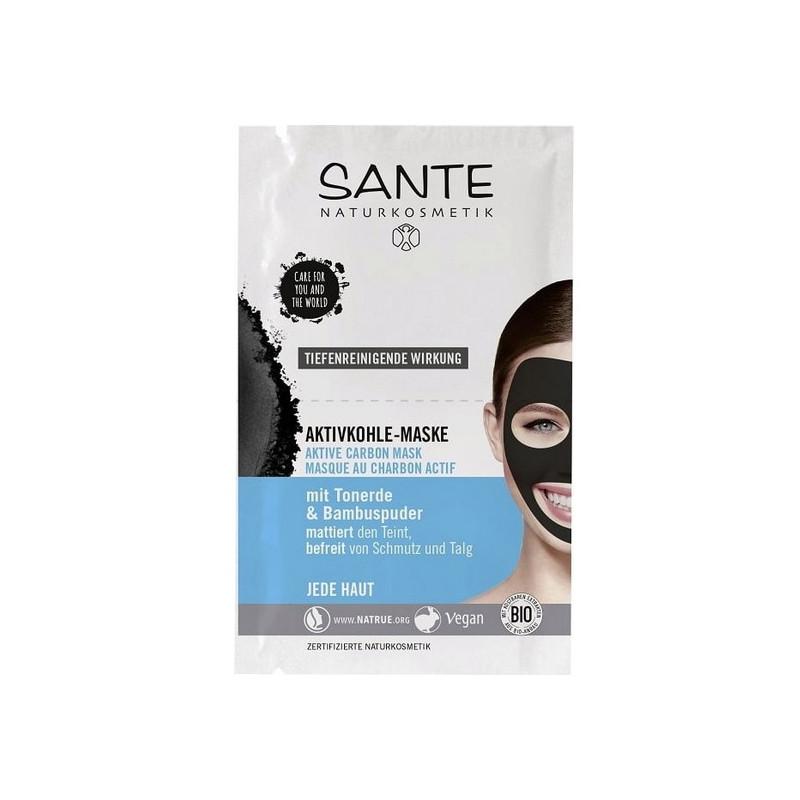 masque bio au charbon actif bambou argile naturelle sante 2 x 4 ml bioferta. Black Bedroom Furniture Sets. Home Design Ideas