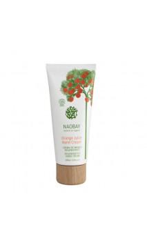 Crème pour les mains bio orange -NAOBAY - 100 ml