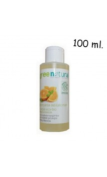 Gel bio pour mains et corps à la menthe et à l'orange - Greenatural - 100 ml.