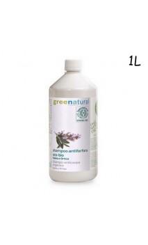 Champú anticaspa ecológico de salvia y ortiga (cabello graso) - Greenatural - 1L