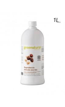 Gel douche BIO Avoine, Coco & Karité - Greenatural - 1L