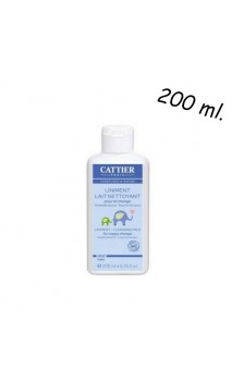 Linimento bio para el cambio de pañal - Hipoalergénico - Cattier - 200 ml.
