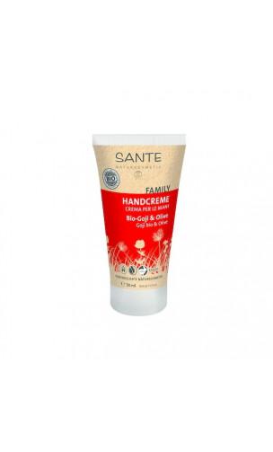 Crème mains bio Goji & Olive - SANTE