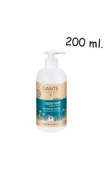 Savon liquide BIO pour les Mains Aloe & Citron vert  - SANTE Family - 200 ml.