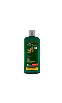 Shampooing brillance argan bio - Cheveux Cassants/Abîmés - Sans Sulfates - LOGONA - 250 ml.