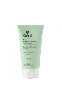 Gel d'aloe vera bio - Sans parfum - Avril - 150 ml.