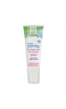 Gel d'aloe vera bio Pur - So'BiO étic - 125 ml.