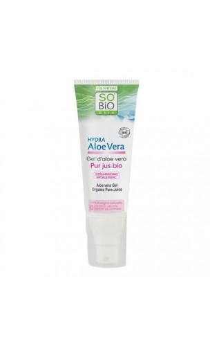 Gel d'aloe vera bio Pur - So'BiO étic - 125 ml.