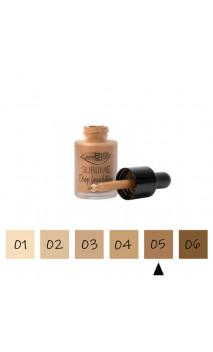"""Maquillage Fluide BIO """"Drop"""" 05 Foncé - FPS 10 - PuroBIO - 15 ml."""
