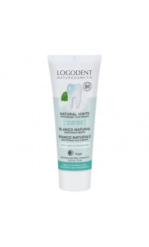Gel dentífrico bio menta blanco natural - Logodent - LOGONA - 75 ml.