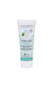 Gel dentifrice bio blancheur à la menthe - Logodent - LOGONA - 75 ml.
