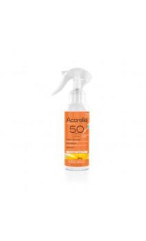Spray solaire BIO enfant SPF 50 - Sans Parfum - Acorelle- 150 ml