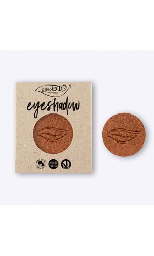 Sombra de ojos ecológica Marrón Copperfield Brillante 05 - PuroBIO - 2,5 gr.