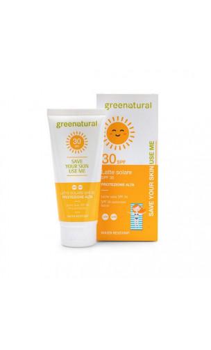 Leche solar ecológico SPF 30 - Greenatural - 100 ml.