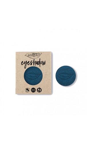 Recharge Fard à paupières bio Bleu Métallique 07 - PuroBIO - 2,5 gr.