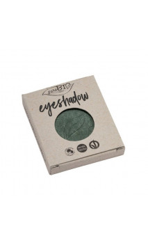 Recarga Sombra de ojos ecológica Verde Musgo Brillante 22 - PuroBIO - 2,5 gr.