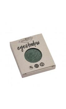 Recharge Fard à paupières bio Vert mousse Brillant 22 - PuroBIO - 2,5 gr.