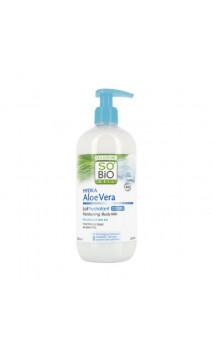 Leche corporal Ecológica hidratante - Hydra Aloe Vera - SO'BiO étic - 500 ml.