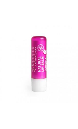 Baume à lèvres bio Framboise - Benecos - 4,8 gr.