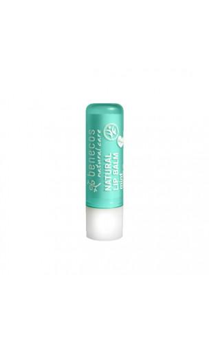 Baume à lèvres bio Menthe - Benecos - 4,8 gr.